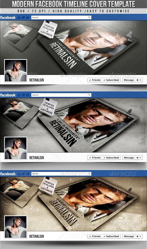 Modern Facebook Timeline Cover - Facebook Timeline Covers Social Media