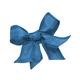 Blue bow isolated on white background - PhotoDune Item for Sale