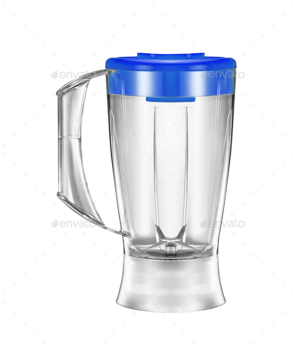 electric blender on a white background - Stock Photo - Images