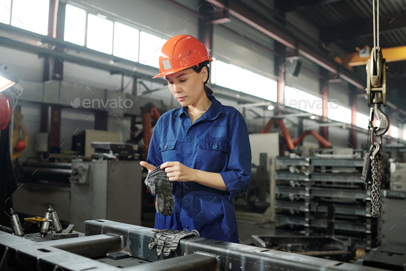 Preparing for metalwork - Stock Photo - Images