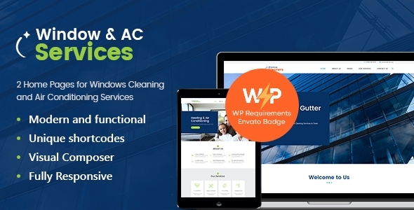 Incredible AC Services | Air Conditioning and Heating Company WordPress Theme