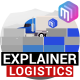 Explainer Video | Logistics Services. Delivery - VideoHive Item for Sale