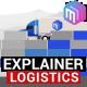Explainer Video | Logistics Services. Delivery