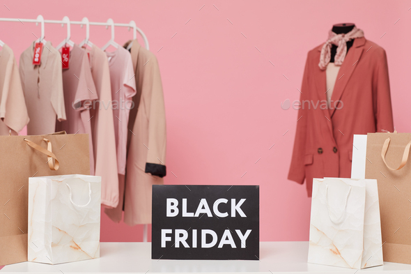 Black Friday in the mall - Stock Photo - Images
