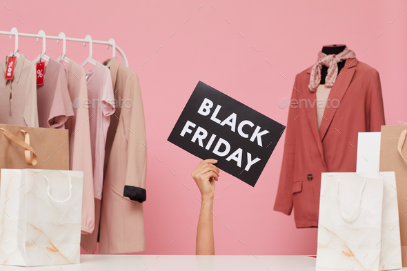 Black Friday in the store - Stock Photo - Images