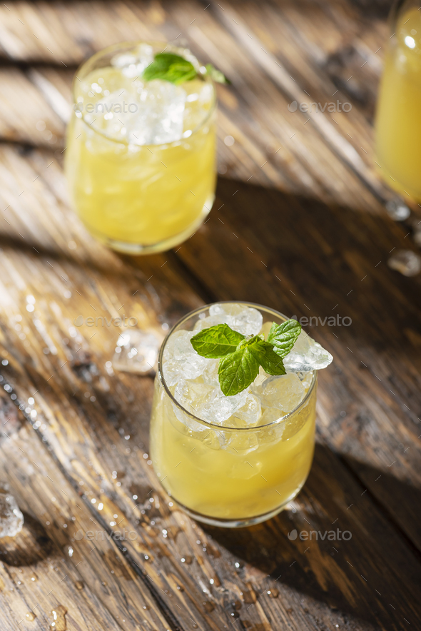 Summer cold cocktail - Stock Photo - Images
