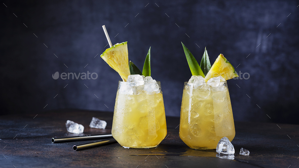 Summer cocktail and bar concept - Stock Photo - Images