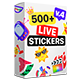 Live Stickers Library