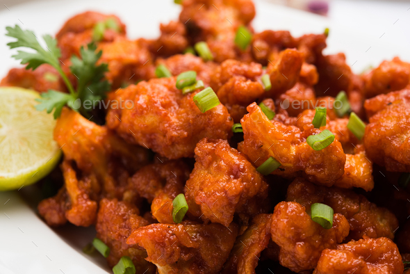 Gobi Manchurian Dry - Stock Photo - Images