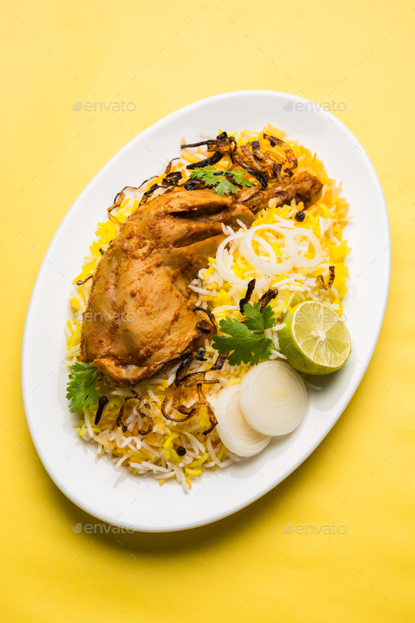 Chicken Biryani - Stock Photo - Images