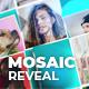 3D Mosaic Reveal