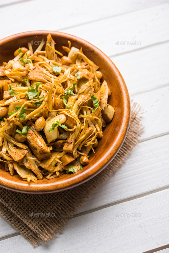 Kathal / Fanas / Jackfruit Sabzi - Stock Photo - Images