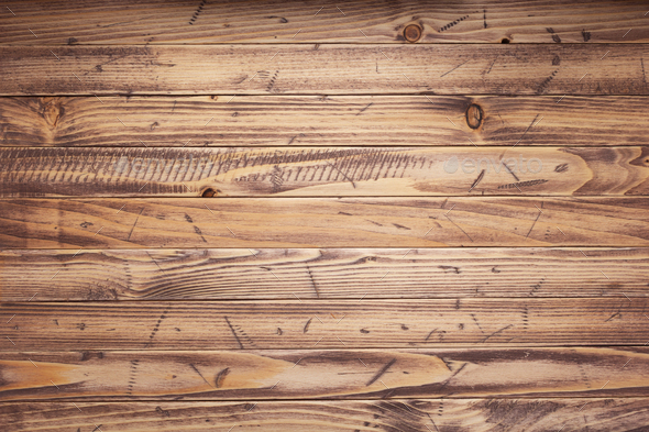 old wooden plank board background as texture - Stock Photo - Images