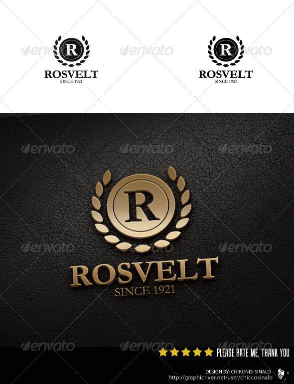 Rosvelt Logo Template - Crests Logo Templates