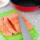 Fresh raw salmon fish fillet - PhotoDune Item for Sale