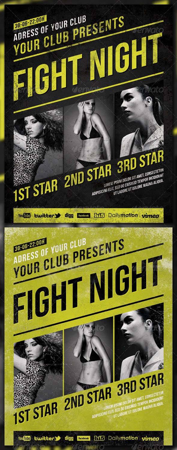 Fight Night - Clubs & Parties Events