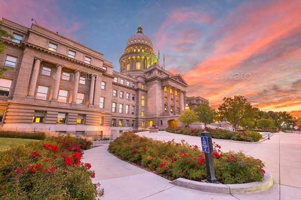 Idaho State Capitol Building - Stock Photo - Images