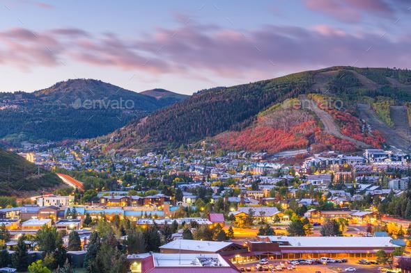 Park City, Utah, USA - Stock Photo - Images