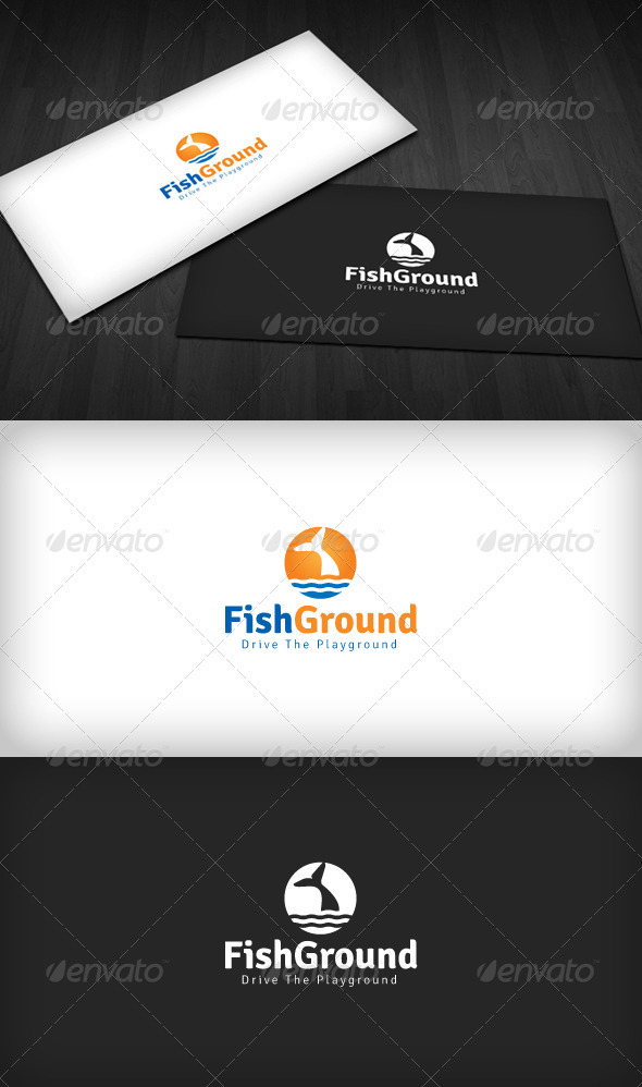 Fish Ground Logo - Animals Logo Templates