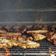 Meat on the barbecue grill - PhotoDune Item for Sale