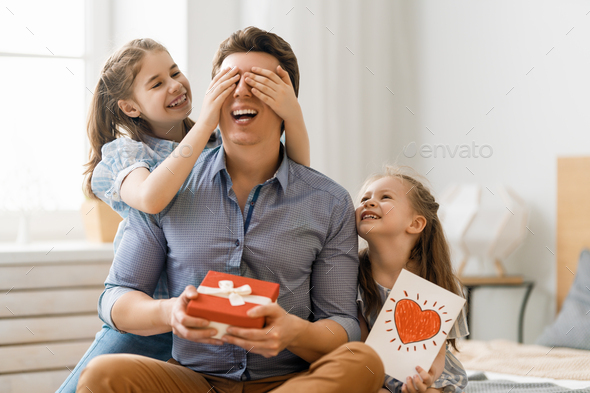Happy father's day! - Stock Photo - Images