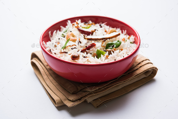 Coconut Rice - Stock Photo - Images
