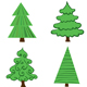 Set of vector trees. - GraphicRiver Item for Sale