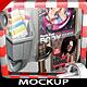 Modern 3D Flyer and Poster Mockup Bundle