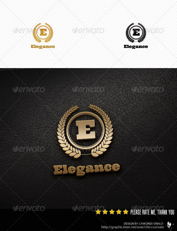 Elegance Logo Template - Letters Logo Templates