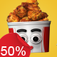 Chicken Bucket - Character Kit - VideoHive Item for Sale