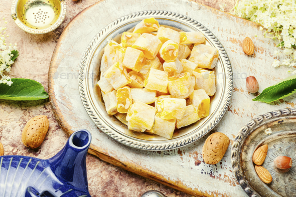 Sweet turkish delight - Stock Photo - Images
