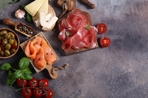 Antipasti Appetizer - Stock Photo - Images