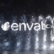 Glowing Particals Logo Reveal 37 : Silver Particals 02 - VideoHive Item for Sale