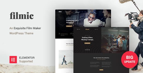 Filmic - Movie Studio & Film Maker WordPress Theme