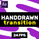 Hand Drawn Transition // After Effects - VideoHive Item for Sale