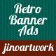 Retro Transparent Banner for Advertisement - GraphicRiver Item for Sale