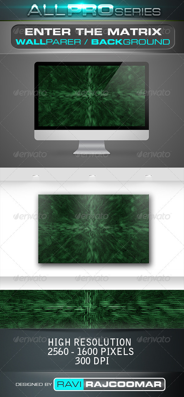 Enter The Matrix Wallpaer - Tech / Futuristic Backgrounds