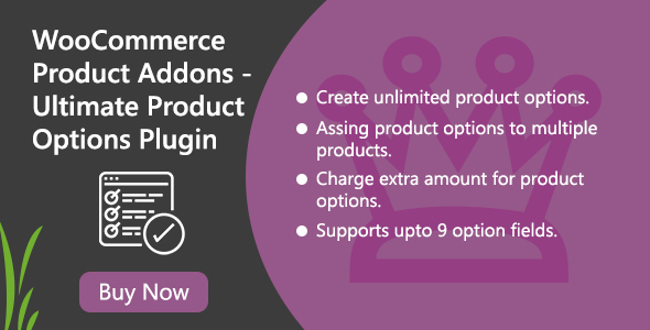 WooCommerce Product Addons - Ultimate Product Options Plugin