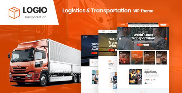 Logio – Logistics & Transportation WordPress Theme