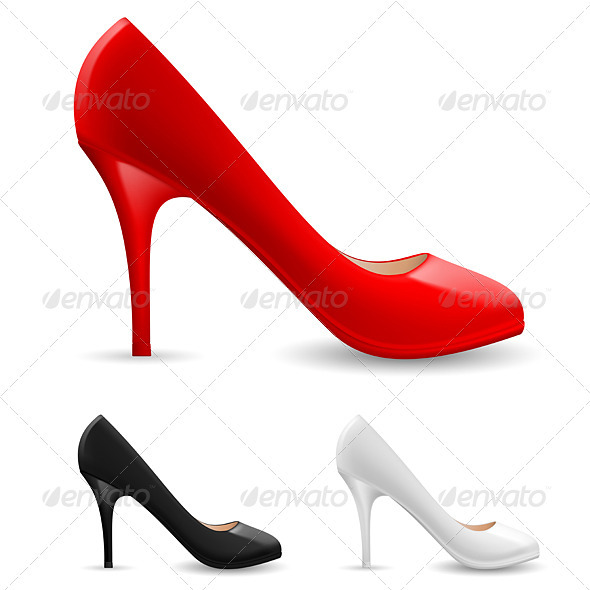 Womens Shoes - Man-made Objects Objects