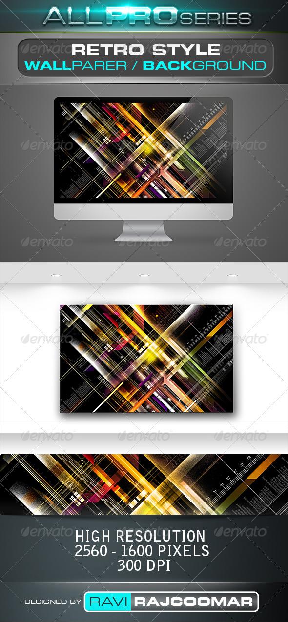 Retro Style Wallpaper - Tech / Futuristic Backgrounds