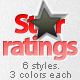 A Simple Star Ratings! - GraphicRiver Item for Sale