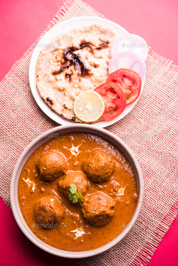 Malai Kofta Curry - Stock Photo - Images