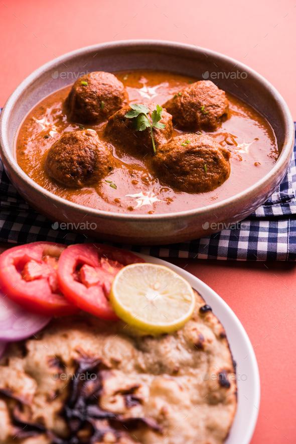 Malai Kofta Curry - Stock Photo - Images