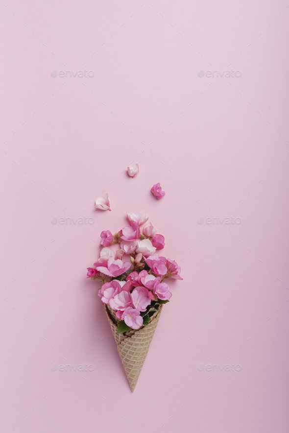 Summer minimal concept. - Stock Photo - Images