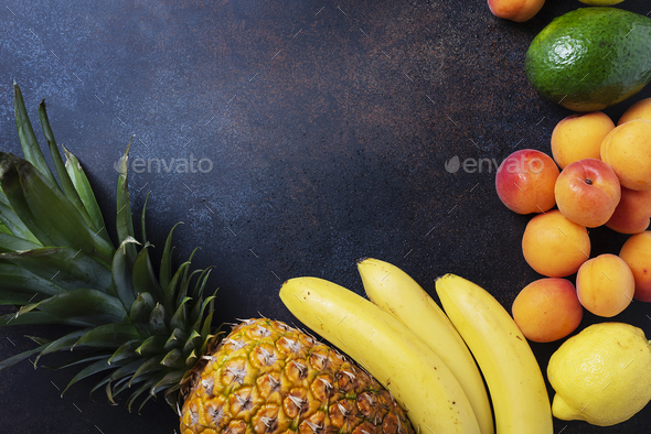 Concept of healthy vegan food - Stock Photo - Images