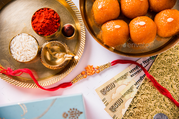 Happy Raksha Bandhan Festival - Stock Photo - Images