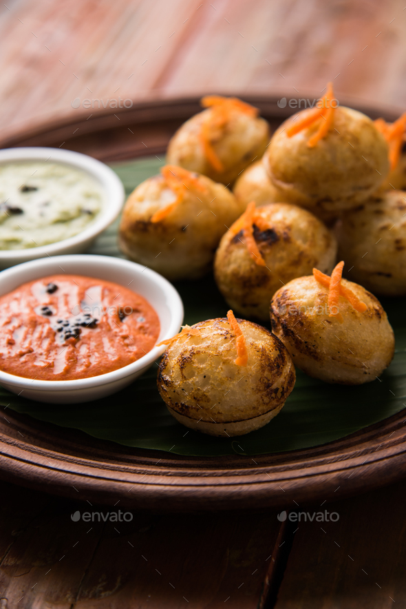 Appam or Rava Appe - South Indian Food - Stock Photo - Images