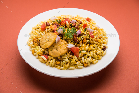 Bhel Puri Chat - Stock Photo - Images