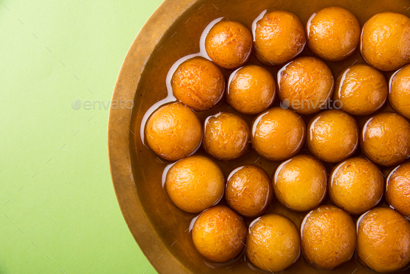 Gulab Jamun - Stock Photo - Images